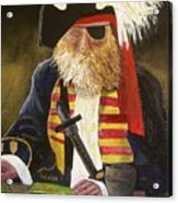 A Pirate's Life Acrylic Print