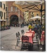 A Pisa Cafe Acrylic Print