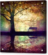 A Place To Rest In The Dark Acrylic Print