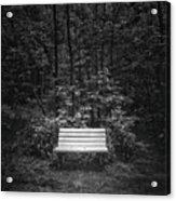 A Place To Sit Acrylic Print