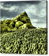 A Pointed Hilltop Acrylic Print