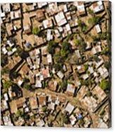 A Poor Neighborhood In Urban Maputo Acrylic Print