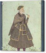 A Portrait Of A Deccani Nobleman Acrylic Print