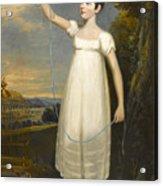 A Portrait Of Ellen Smith Of Nottingham Acrylic Print