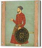 A Portrait Of Khan Zaman Acrylic Print