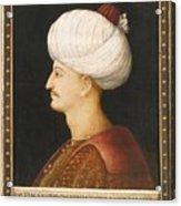 A Portrait Of Suleyman Acrylic Print