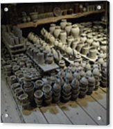 A Potter's Storehouse Acrylic Print