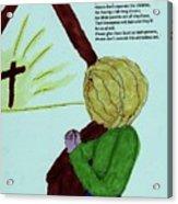 A Prayer Acrylic Print