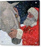 A Present For Santa Acrylic Print