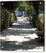 A Promenade In Rehavia Acrylic Print