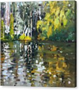 A Quiet Afternoon Reflection Acrylic Print