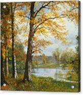 A Quiet Lake Acrylic Print