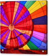 Temecula, Ca - A Rainbow Of Colors Acrylic Print