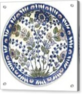 A Rare Iznik Damascus Acrylic Print
