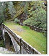 A Real Bridge To Nowhere Acrylic Print