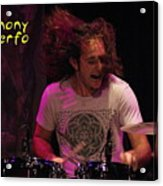 A Real Drummer Acrylic Print