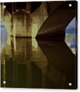 A Reflective Moment In Lyon Acrylic Print