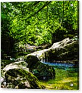 A Relaxing Place To Be Acrylic Print