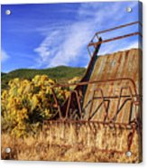 A Reminder Of The Past Acrylic Print