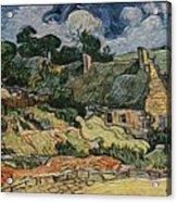 a replica of the landscape of Van Gogh Acrylic Print