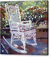 A Rest In The Shade Acrylic Print by David Lloyd Glover