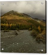 A River Runs Through The Brooks Range Alaska Acrylic Print