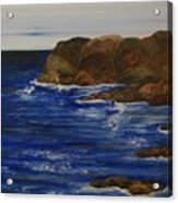 A Rocky Coast Acrylic Print