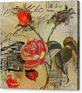 A Rose Story Acrylic Print