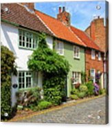 A Row Of Cottages Acrylic Print