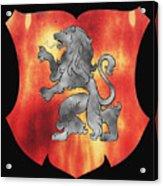 a Royal Crest Acrylic Print
