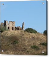 A Ruin In The Hills Of Tuscany Acrylic Print