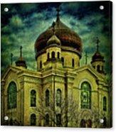 A Russian In Brooklyn Acrylic Print