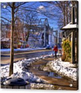 A Sandpoint Winter Acrylic Print