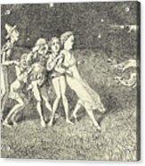 A Scarecrow Acrylic Print