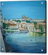 A Scene In Prague 3 Acrylic Print