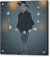 A Sea Witch's Blessed Yule Acrylic Print