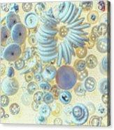 A Seamstress Treasure Acrylic Print