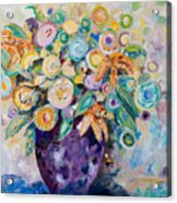 A Season Of Flowers Acrylic Print