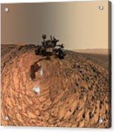 A Selfie On Mars Acrylic Print