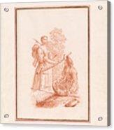 A Shepherdess And A Fishseller Acrylic Print