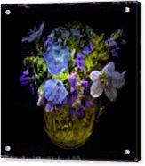 A Shot Of Springtime Wildflowers Acrylic Print