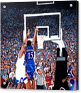 A Shot To Remember - 2008 National Champions Acrylic Print by Tom Roderick