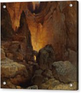 A Side Canyon, Grand Canyon Of Arizona Acrylic Print