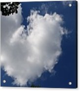 A Sign You Are Loved Acrylic Print