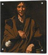 A Smiling Beggar Acrylic Print