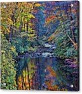 A Smoky Mountain Autumn Acrylic Print