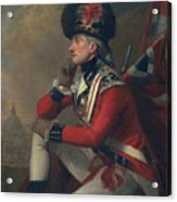 A Soldier Called Major John Andre Acrylic Print by English School