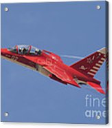 A Special Painted Yak-130 Performing Acrylic Print