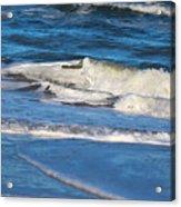 A Splash In The Surf Acrylic Print