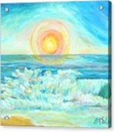 A Splash Of Dawn Acrylic Print